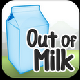 Out of Milk Shopping List Application Icon