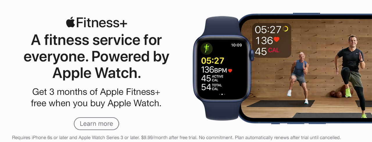 Apple Fitness Plus Promo