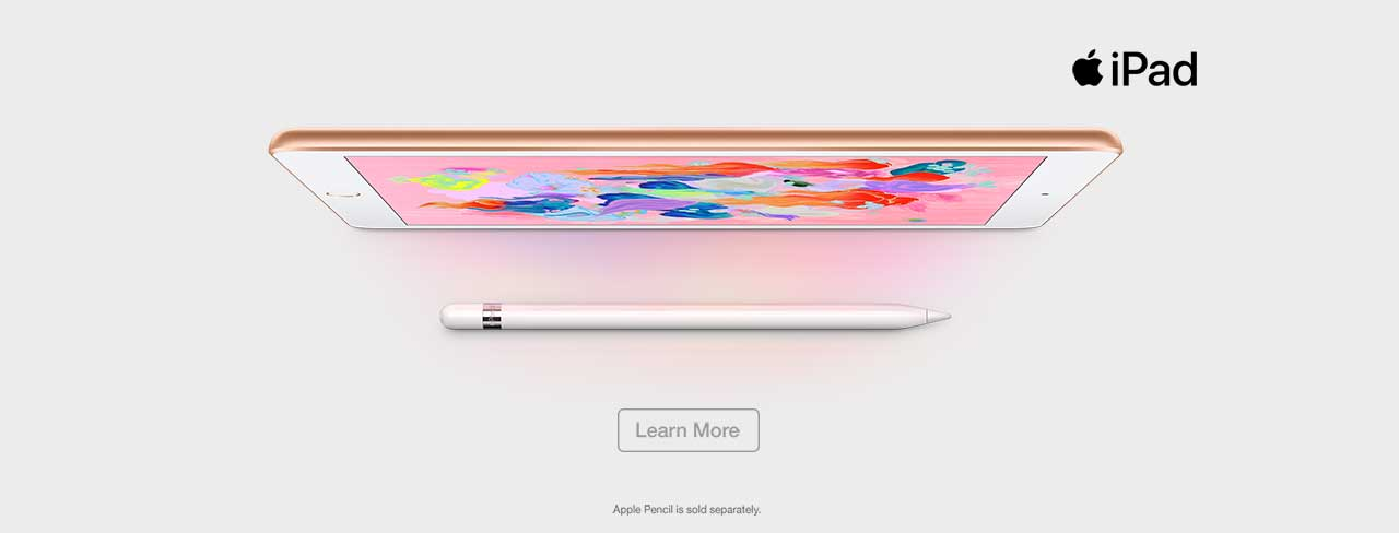 Apple iPad 2018 Now Available