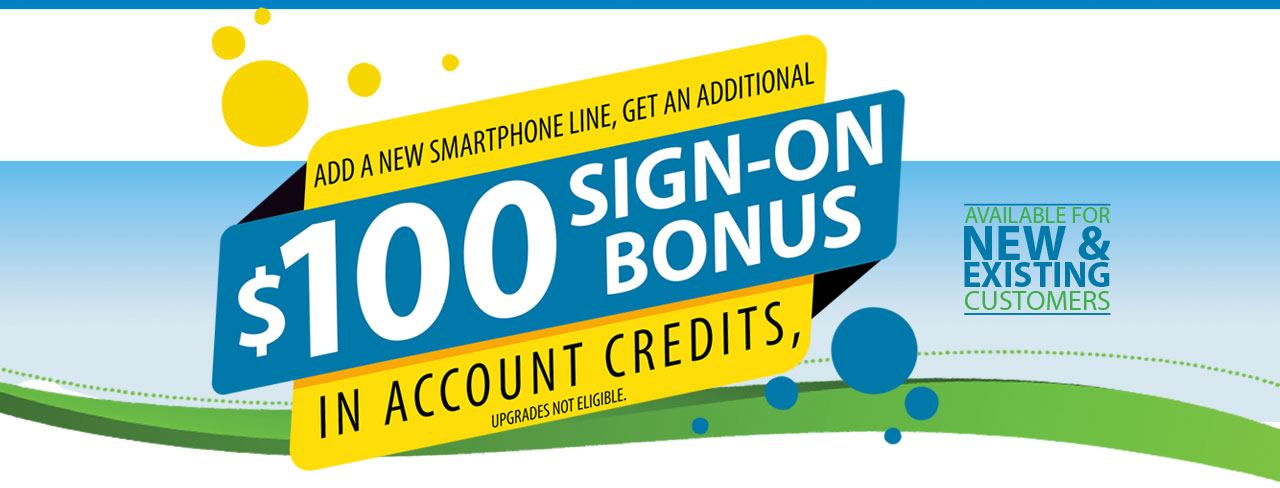 April 2021 Sign On Bonus Promotion