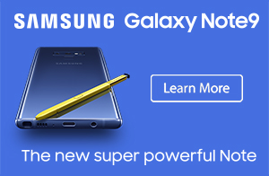 Samsung Galaxy Note9 Now Available