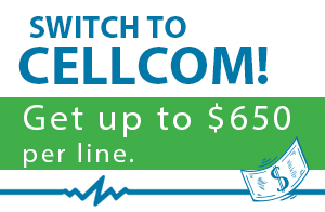 Switch to Cellcom and Save