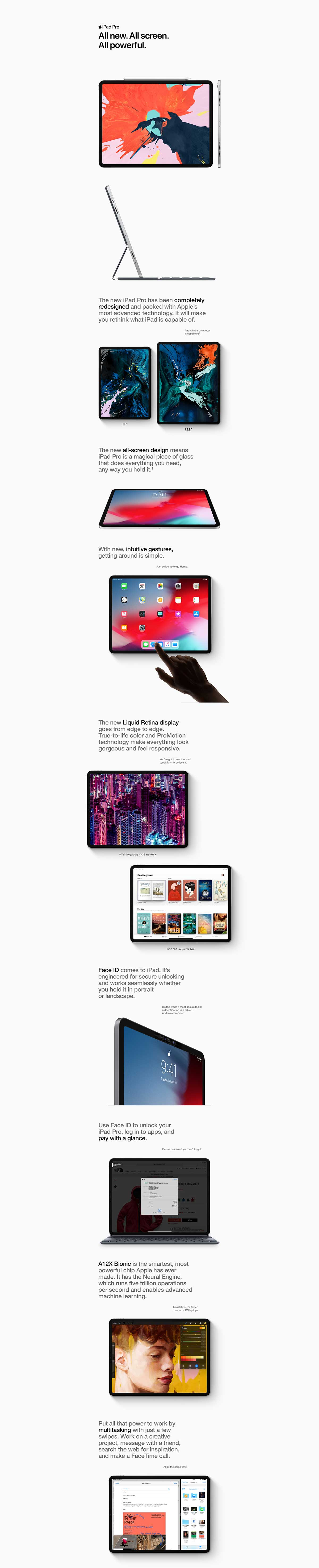 iPad Pro 12.9 Product Overview part 1