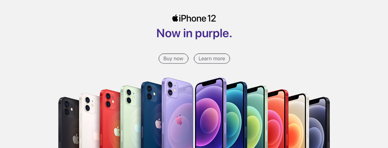 iPhone 12 Purple Available